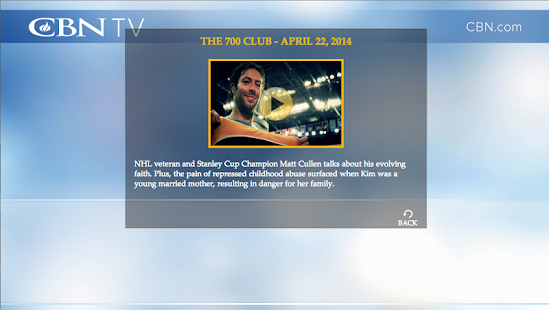 Watch CBN TV - screenshot thumbnail