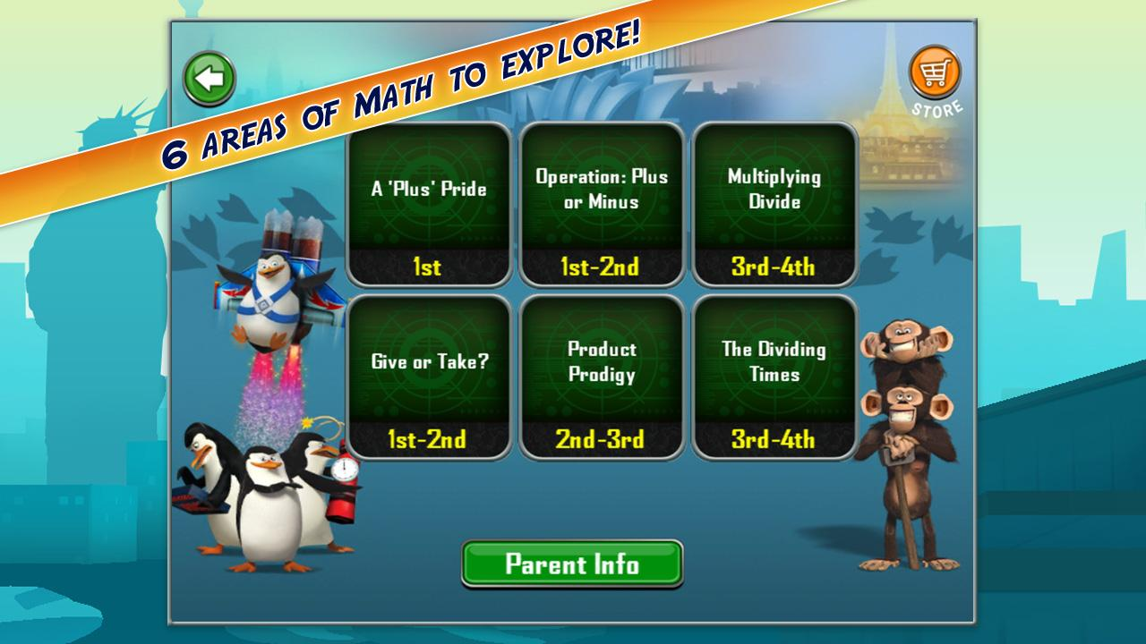 Madagascar Math Ops- screenshot