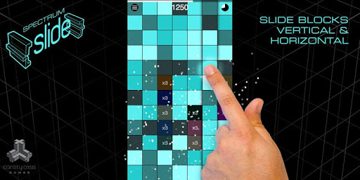 Spectrum Slide Block Game