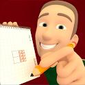 Drawing Square logic free game icon
