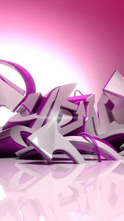 3D Graffiti Wallpapers - screenshot