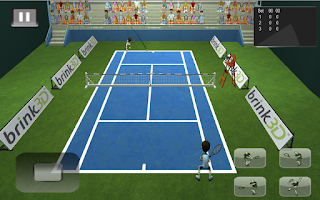Screenshot of Brink 3D Tennis Cup