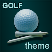 Pro Golf theme for GO SMS