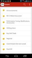 Screenshot of MX5 Miata.net