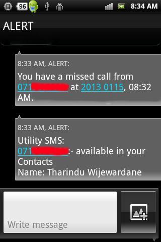 Utility SMS