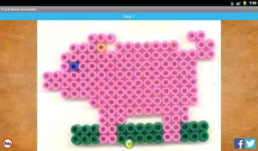 Fuse bead picture examples- screenshot thumbnail