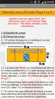 Screenshot of Reglas de Ultimate WFDF