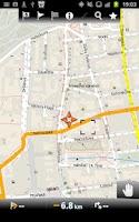 Screenshot of MapFactor GPS Navigation Maps