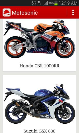 Motosonic: Motorcycle Sounds +