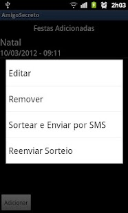 Amigo Secreto Lite - screenshot thumbnail