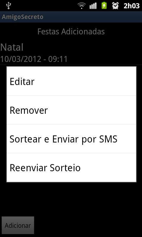 Amigo Secreto Lite- screenshot