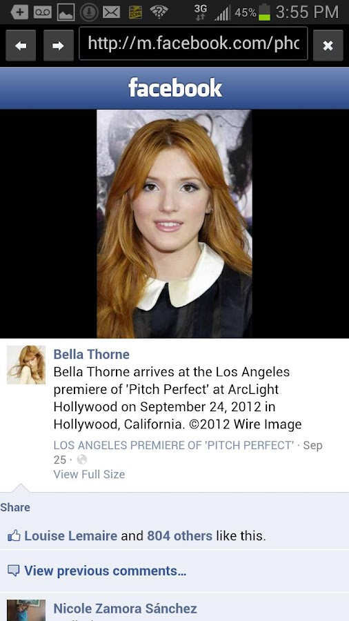 Bella Thorne Fans - screenshot