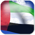 3D UAE Flag + icon