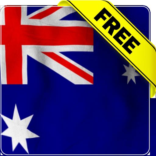Australia flag Free lwp