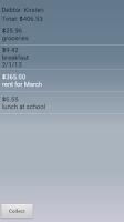 Screenshot of Debt Collector