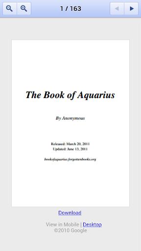 The Book of Aquarius