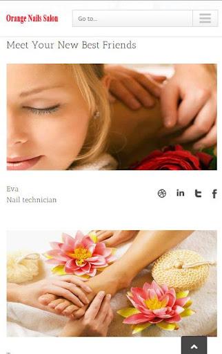 Orange Hair Nails Salon
