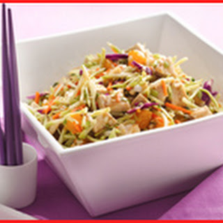 Scoopable Chinese Chicken Salad.