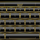 Theme for A.I.type Frame Gold icon