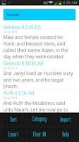 Screenshot of Bible