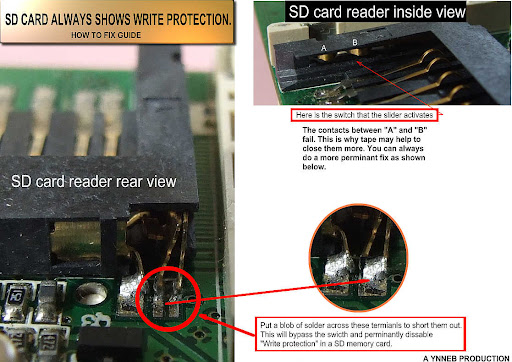 SD Card Reader says the card is write-protected | Tom's