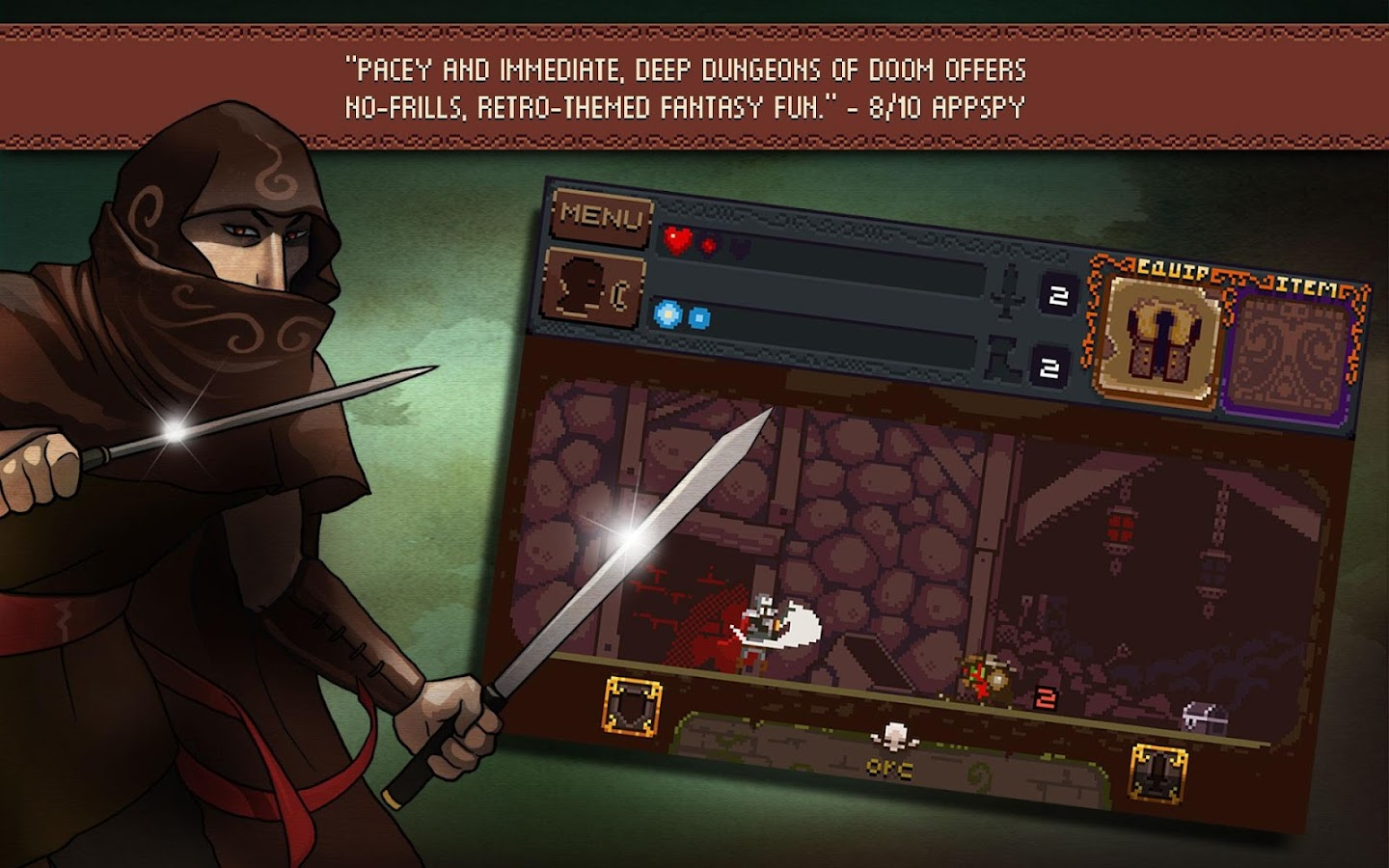 Deep Dungeons of Doom - screenshot