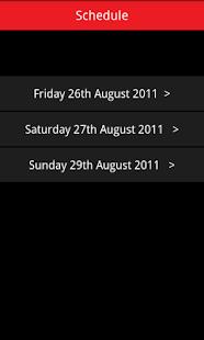 Leeds Festival 2011 Guide- screenshot thumbnail