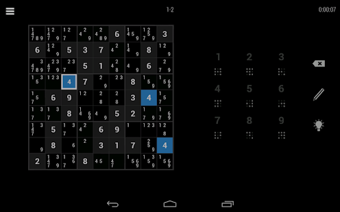 Simply Sudoku - screenshot thumbnail