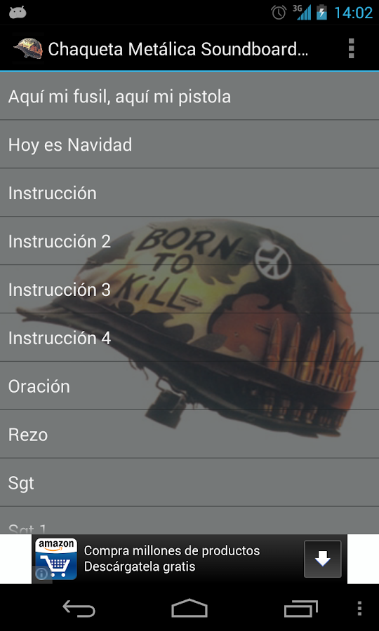 Chaqueta Metálica Soundboard - Android Apps on Google Play