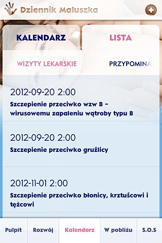 Dziennik Maluszka - screenshot
