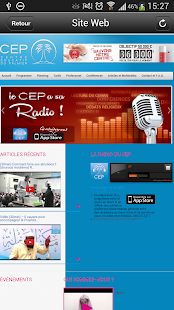 RADIO CEP - screenshot thumbnail