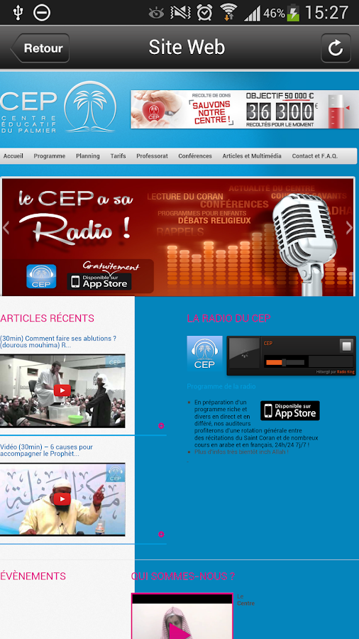 RADIO CEP - screenshot