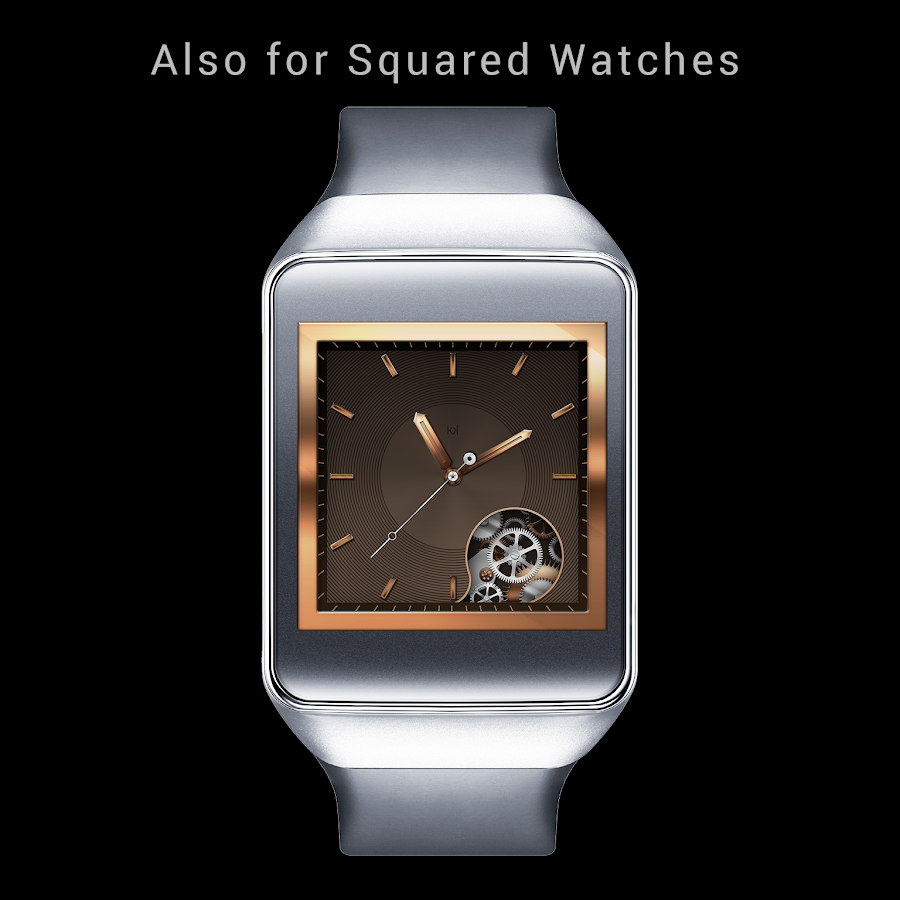 Golden Beauty Watch Face- screenshot