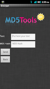 MD5 Tools screenshot 2