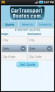 Get 8 Auto Transport Quotes! - screenshot thumbnail