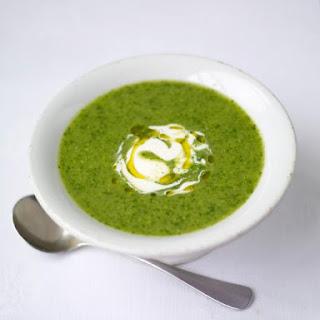 Summer Pea & Watercress Soup.