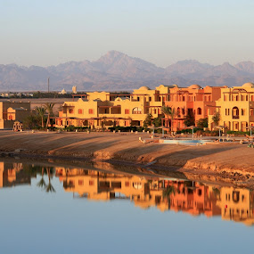 Sun rising - El Gouna Egypt by Carole Walle - Buildings & Architecture Other Exteriors (  )