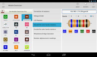 Screenshot of Mobile electrician