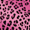 Leopard Print Pink Theme logo