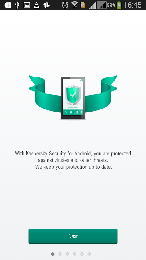 Kaspersky Endpoint Security - screenshot