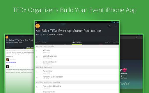 【免費教育App】Learn AppBaker - Udemy Course-APP點子