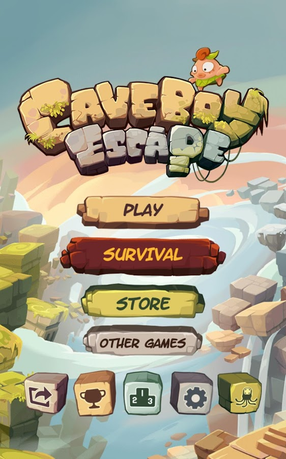 Caveboy Escape- screenshot
