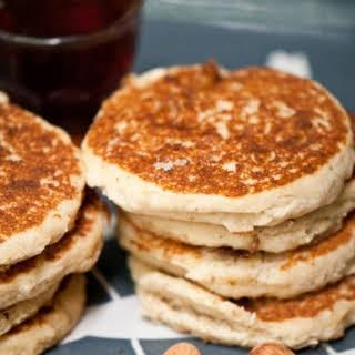 Gluten Free Lemon Almond Pancakes.