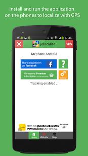 jelocalise Phone GPS Tracker- screenshot thumbnail