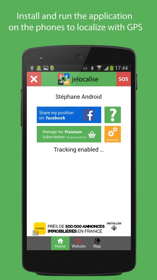 jelocalise Phone GPS Tracker- screenshot