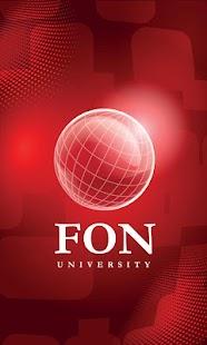 FON University- screenshot thumbnail