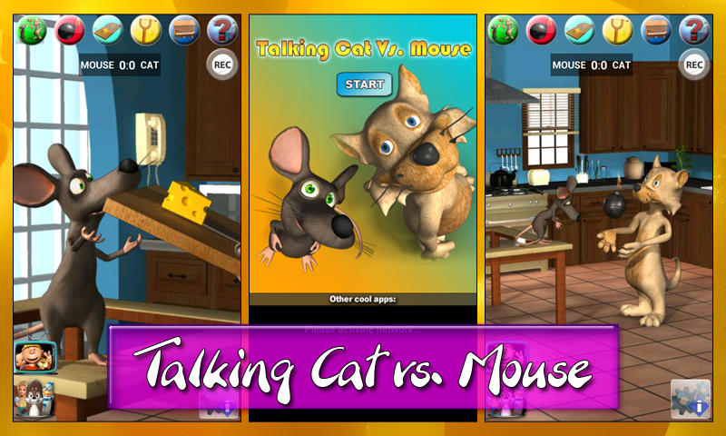 Talking Cat Vs. Mouse - screenshot