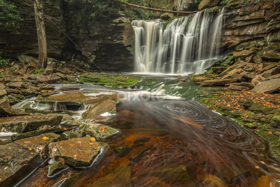 Elakala Falls, West Virginia by Ferruccio Galbiati - Landscapes Waterscapes ( waterfalls, nature, west virginia, travel, waterscapes, landscape )