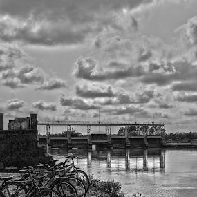 Save Energy by Pritam Saha - Black & White Landscapes ( monochrome, black & white, travel, landscape, photo, , silhouette )