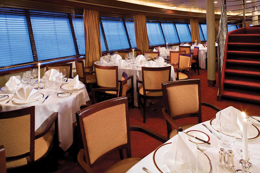 Silver_Explorer_dining_room_4 - Dine in style in the main dinning room on board Silver Explorer.